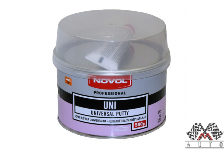 Шпатлёвка универсальная UNI 0,5 кг NOVOL (1101)