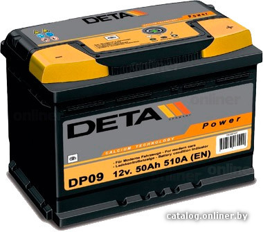 DETA Power DB 740 L (74 А/ч)