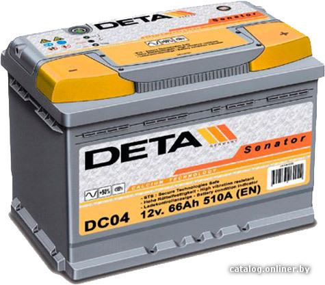 DETA Senator DB 1005 JL (100 А/ч)