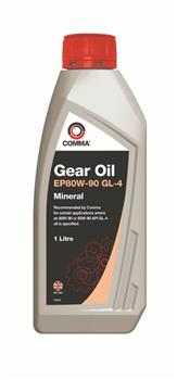 COMMA EP 80W-90 GEAR OIL GL-4 1л
