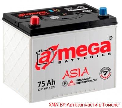 A-mega Standard Asia 70Ач, 610А