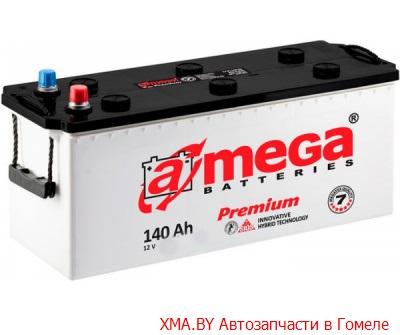A-mega Premium 140Ач, полярность 3, пусковой ток 850А