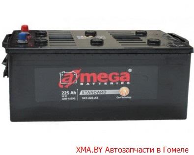 A-mega Standard 190Ач, полярность 3, пусковой ток 1100А