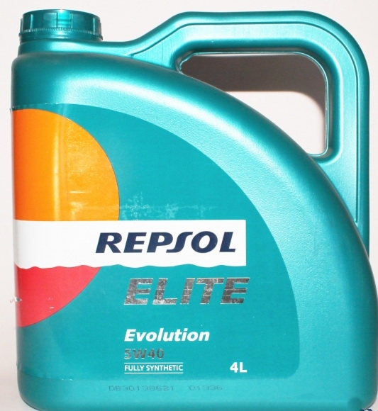 Repsol Elite Evolution 5W-40, 4л